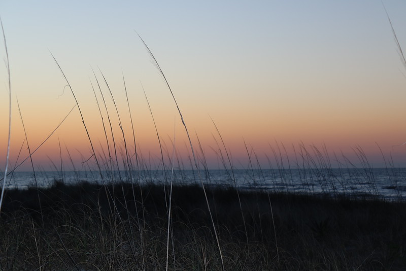 Dawn Through the Dunes
