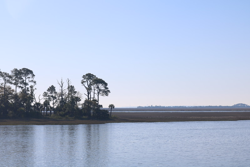Along the Intracoastal Waterway