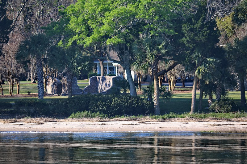 Historic Ruins along the Intracoastal Waterway