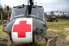 """A UH-1 Iroquois """"Huey"""" at the Vietnam War Experience at Patriots Point Naval Maritime Museum in Mt. Pleasant, SC on Saturday, February 28, 2015. Copyright 2015 Jason Barnette  Patriots Point is a popular tourist attraction located along the Cooper River. The site serves as the home of the USS Yorktown aircraft carrier, USS Clamagore submarine, and USS Laffey destroyer. The museum also features a gift shop, the Vietnam War Experience, and boat tours to Fort Sumter."""