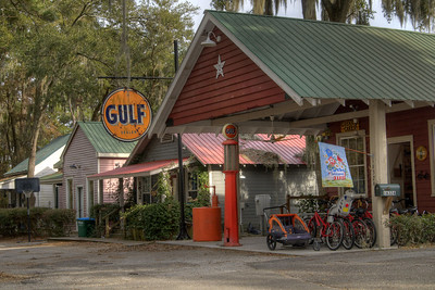An extension of Mikki's Schoolhouse Diner, the former Gulf gas station will serve as a gift shop, local artisan store, and dessert bar in Port Royal, SC on Saturday, February 21, 2015. Copyright 2015 Jason Barnette