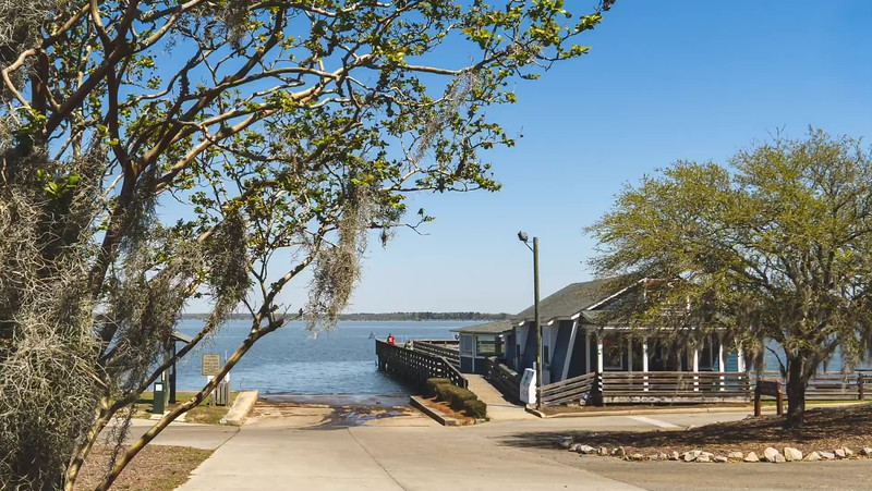 2019 South Carolina: Poinsett State Park in Wedgefield and Santee State Park in Santee Photo Slideshow