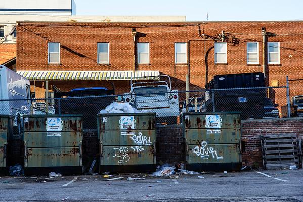Dumpsters!