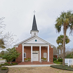 Fort Moultrie Chapel, Fort Moultrie