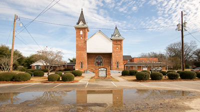 Pee Dee Union Baptist Church, Chesterfield