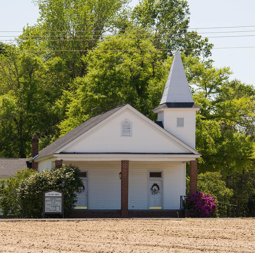 Fair Hope Presbyterian Church, Carters Crossroads