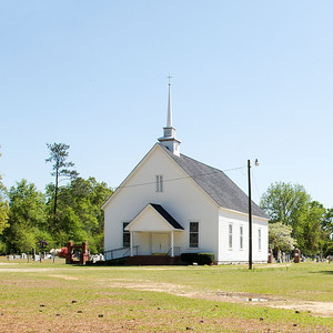 Newman Swamp Methodist Church, Lamar