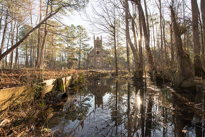 Prince Frederick's Chapel Ruins, Plantersville