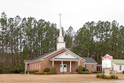 Steep Bottom Baptist Church, Estill