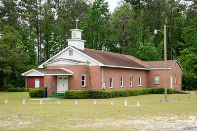 Cherry Grove Christian Church, Brunson