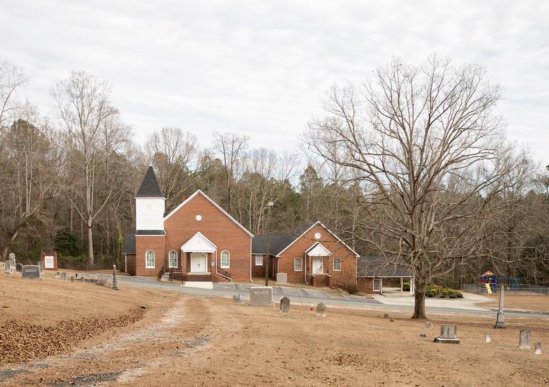 Flat Creek Baptist Church, Lancaster County