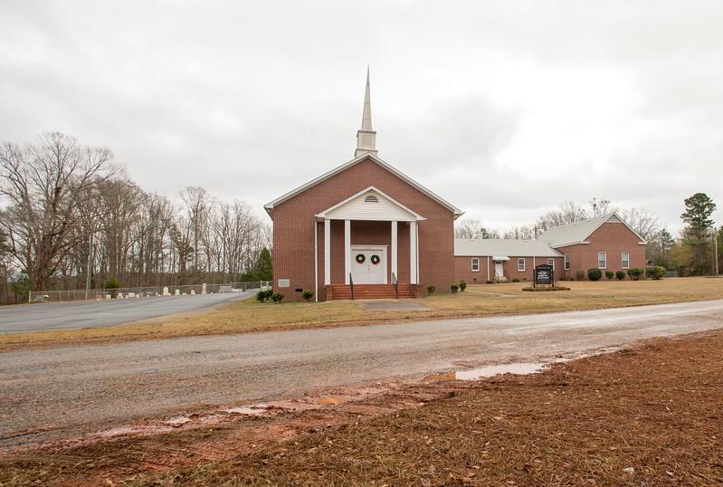 Hurricane Baptist Church, Clinton