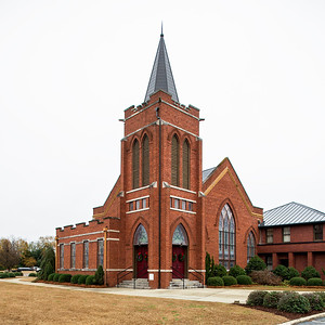 Leesville United Methodist Church, Batesburg-Leesville