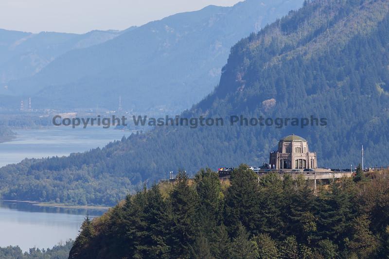 Columbia River Gorge Vista House 31