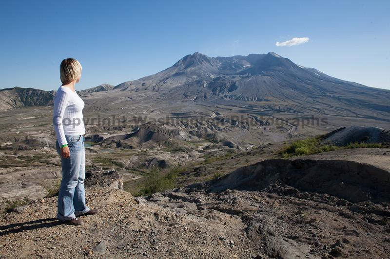 Mt St Helens Trail Hiking 302