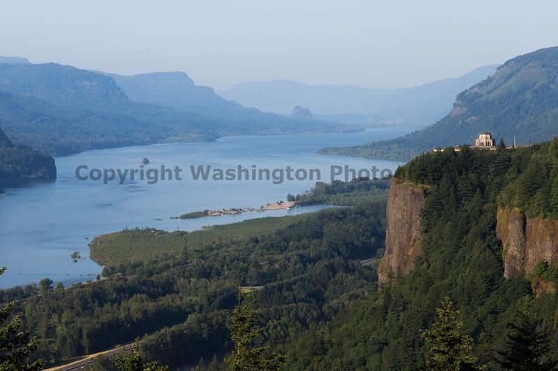 Columbia River Gorge Vista House 11