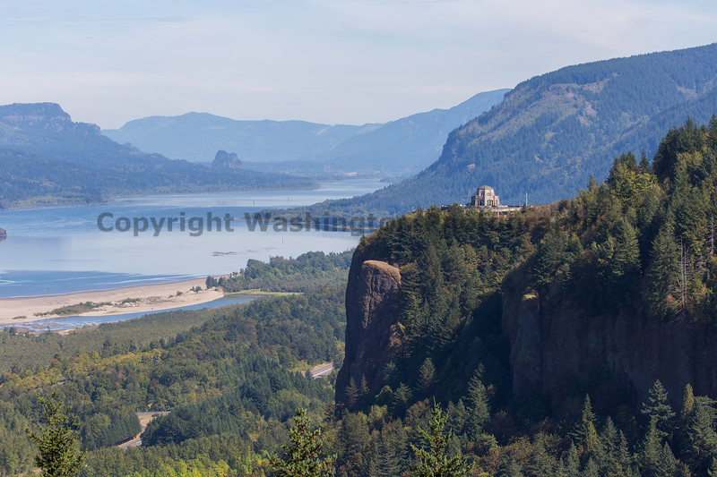 Columbia River Gorge Vista House 32
