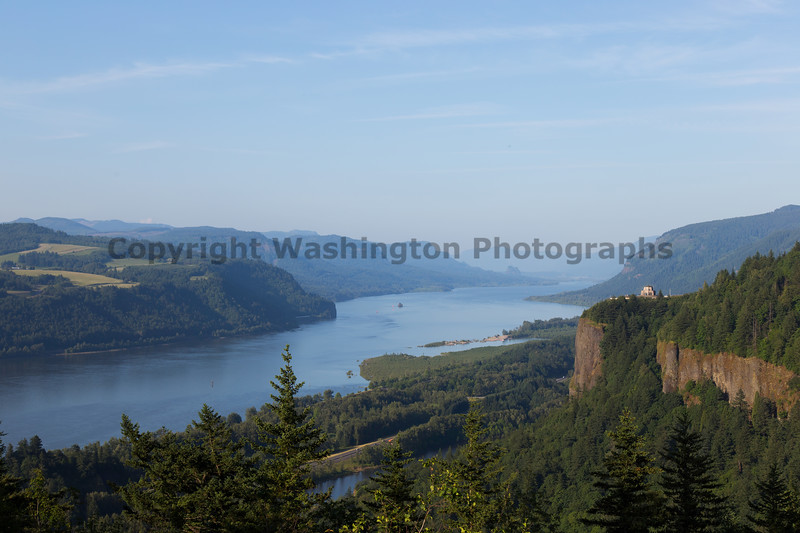 Columbia River Gorge Vista House 12