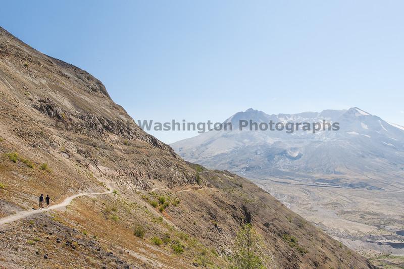 Mt St Helens Johnston Ridge Trail 154