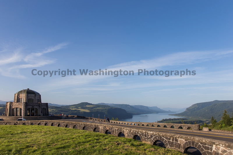 Columbia River Gorge Vista House 27