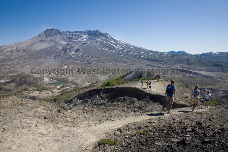 Mt St Helens Johnston Ridge 138