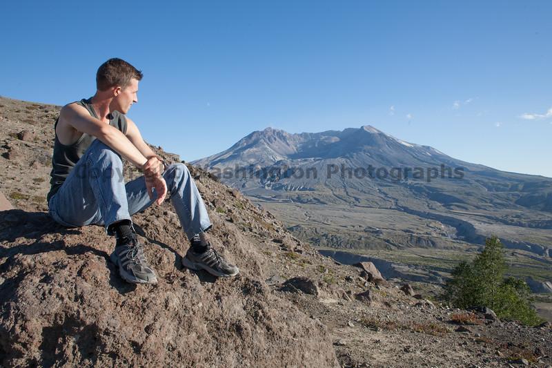Mt St Helens Trail Hiking 312