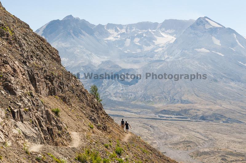 Mt St Helens Johnston Ridge Trail 155