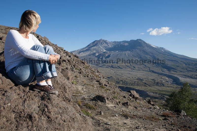 Mt St Helens Trail Hiking 310