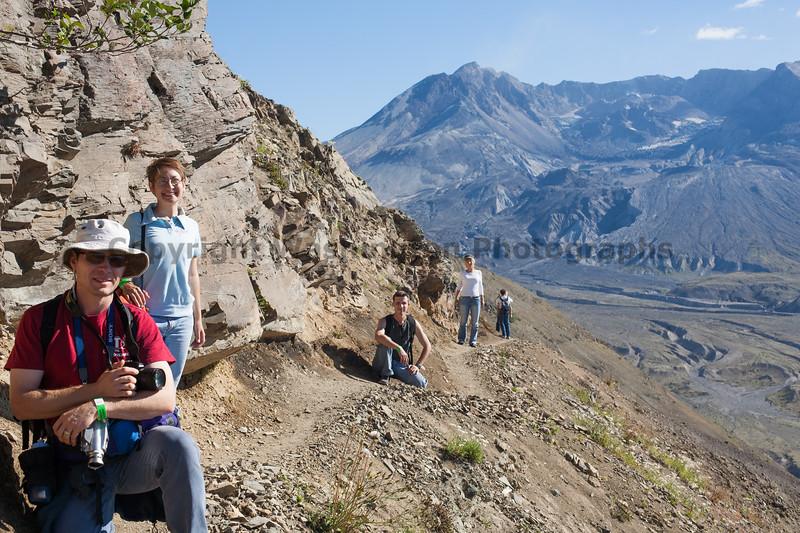 Mt St Helens Trail Hiking 301