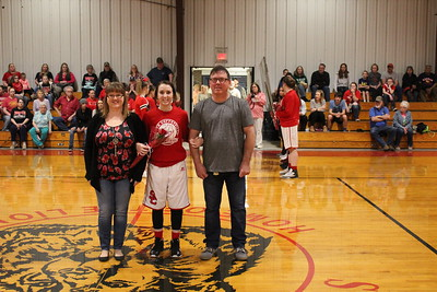 2017 Basketball Senior Night