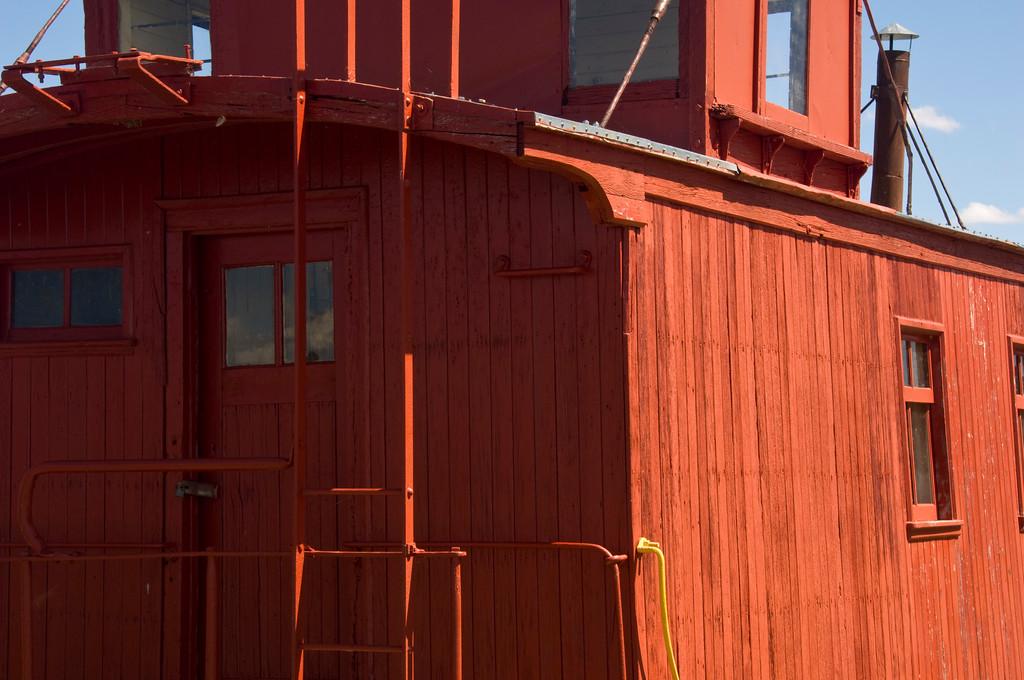 red caboose