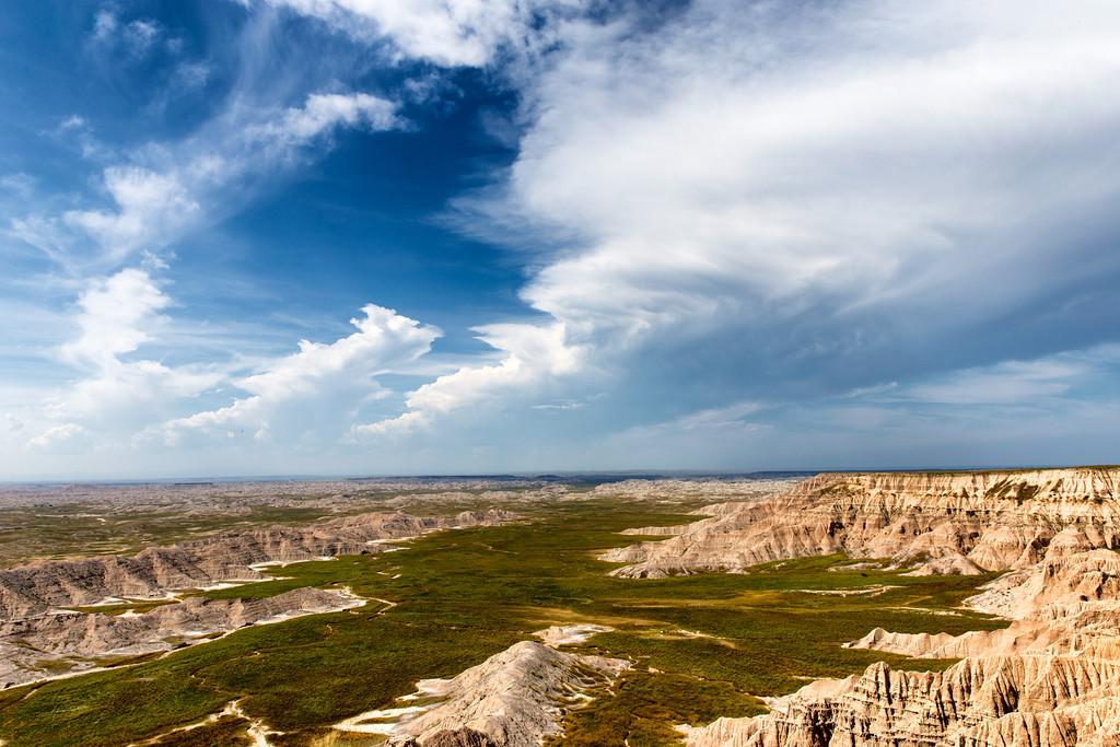 Thunder Clouds Pine Ridge Agency, SD