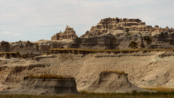 Rock Castles in the Badlands