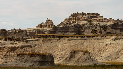Rock Castles in the Badlands