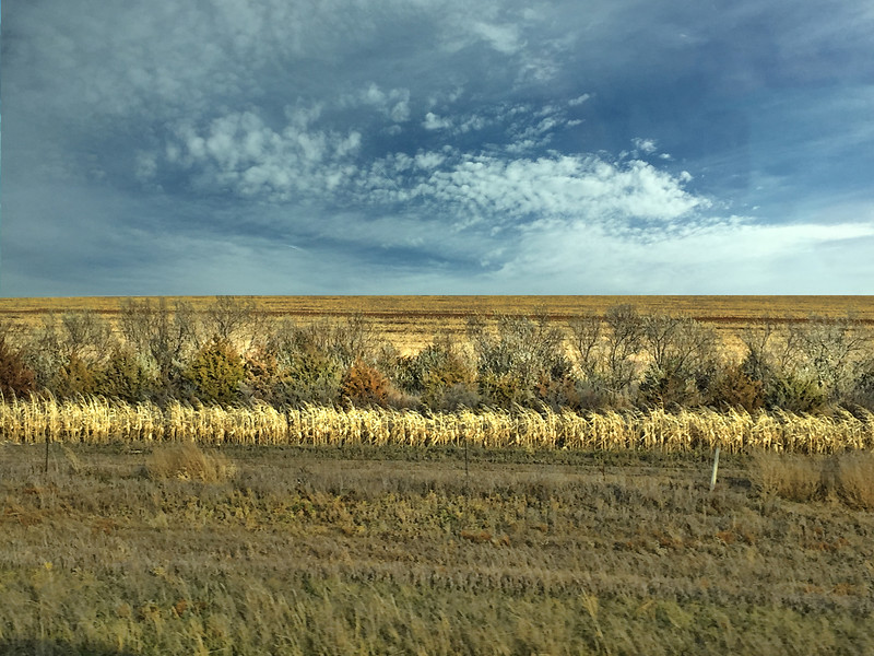On Highway toward Ft. Pierre, SD