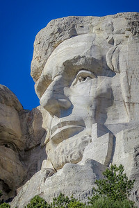 Abraham Lincoln -  Mt Rushmore