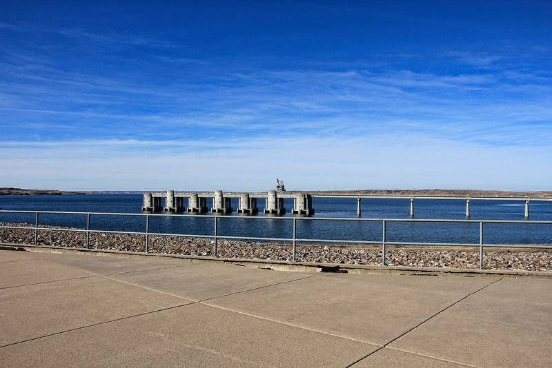 Oahe Dam, Just north of Pierre, SD