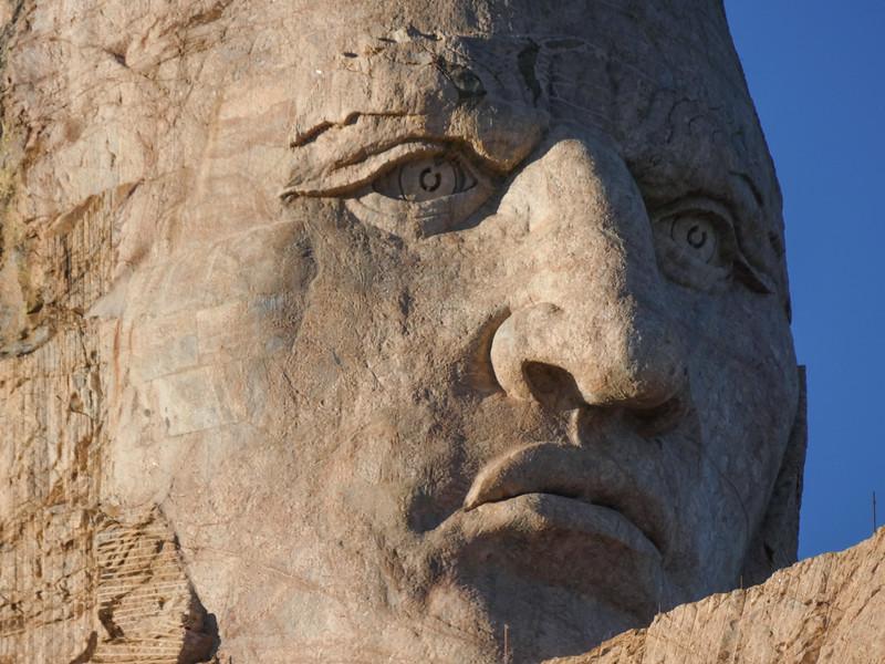 Crazy Horse - close