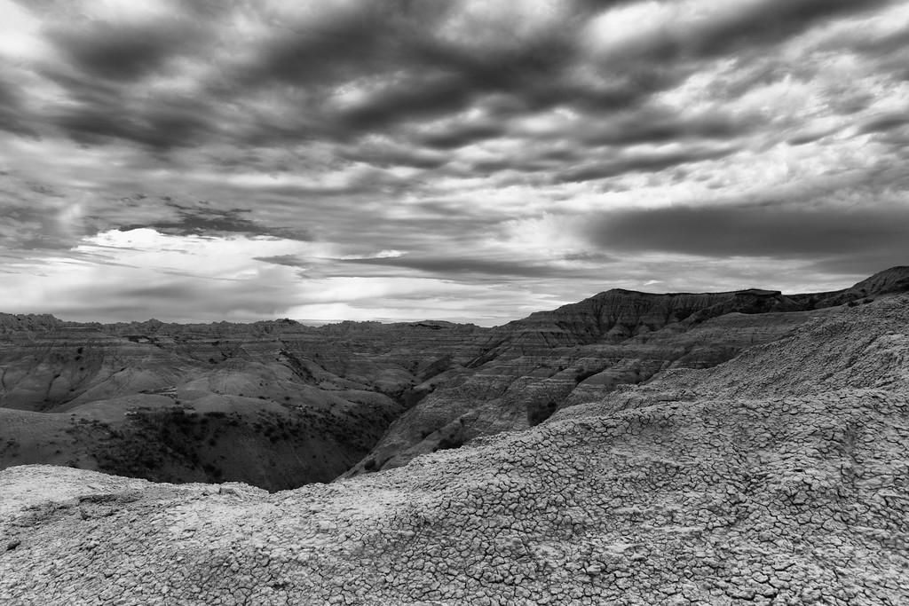 Morning Storm, Badlands National Park, SD