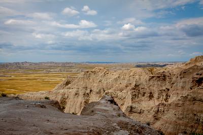 Another Badlands Landscape