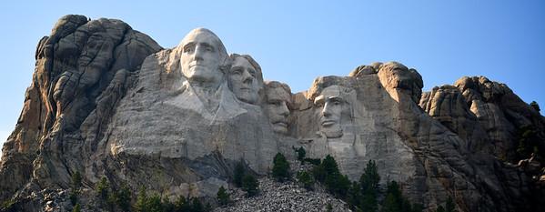 Mt. Rushmore  -  South Dakota