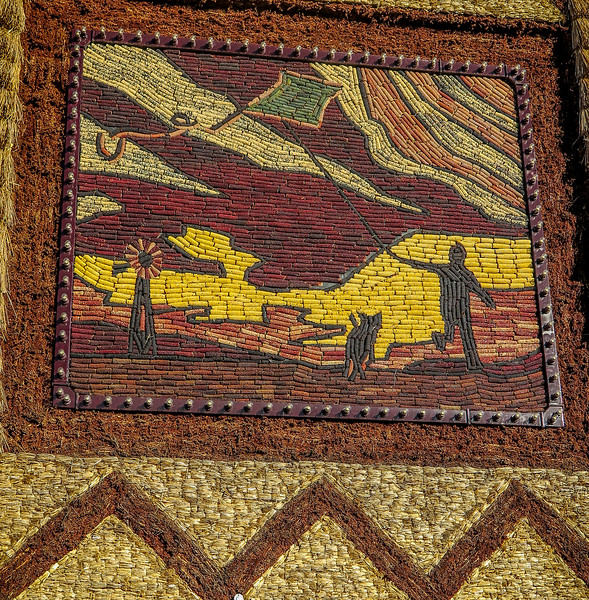 Corn Palace Art - Weather - Kite Flying