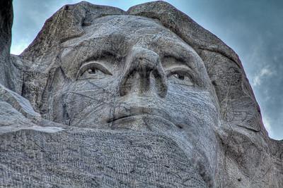 Thomas Jefferson, Mt Rushmore National Memorial, South Dakota, USA