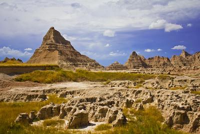 Good afternoon, Badlands!  Badlands National Park, South Dakota, USA