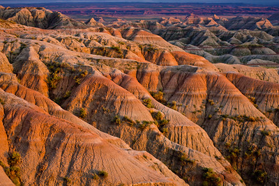 White River Valley Overlook,Badlands National Park, South Dakota, USA