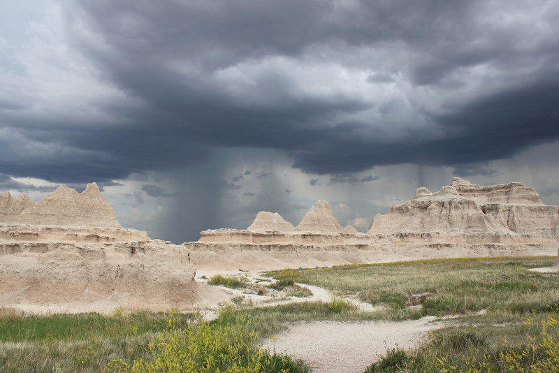 Storm, Big Badlands Overlook