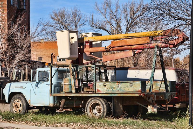 Old Bucket Truck
