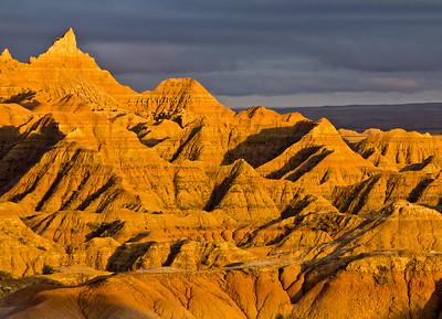 White River Valley Overlook, Badlands National Park, South Dakota, USA
