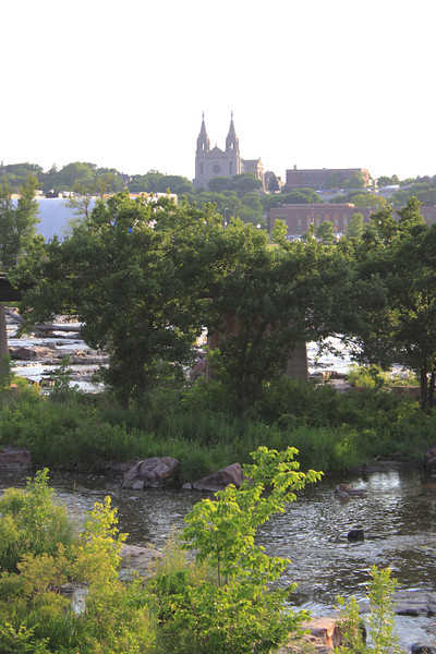Sioux Falls Cathedral and Falls Park