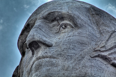 George Washington, Mt Rushmore National Memorial, South Dakota, USA